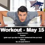 Workout – May 15