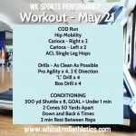 Workout – May 21