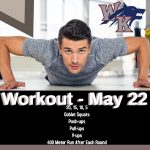 Workout – May 22