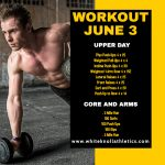 Workout – June 3