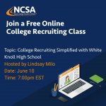 Want to Play College Sports? Join This Recruiting Event to Learn About the College Recruiting Process!