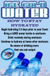 Begin Good Hydration Habits Now
