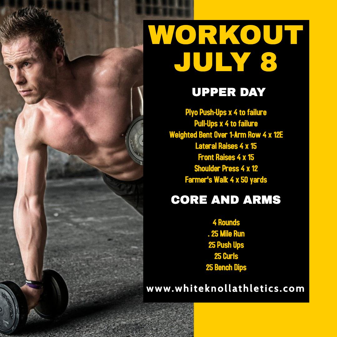 Workout July 8