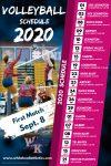 2020 Volleyball Schedule