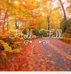 First Day of Fall! Welcome!