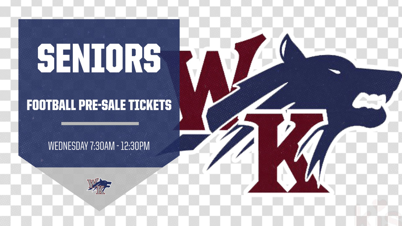 WK Seniors: Get Your Football Tickets Today!