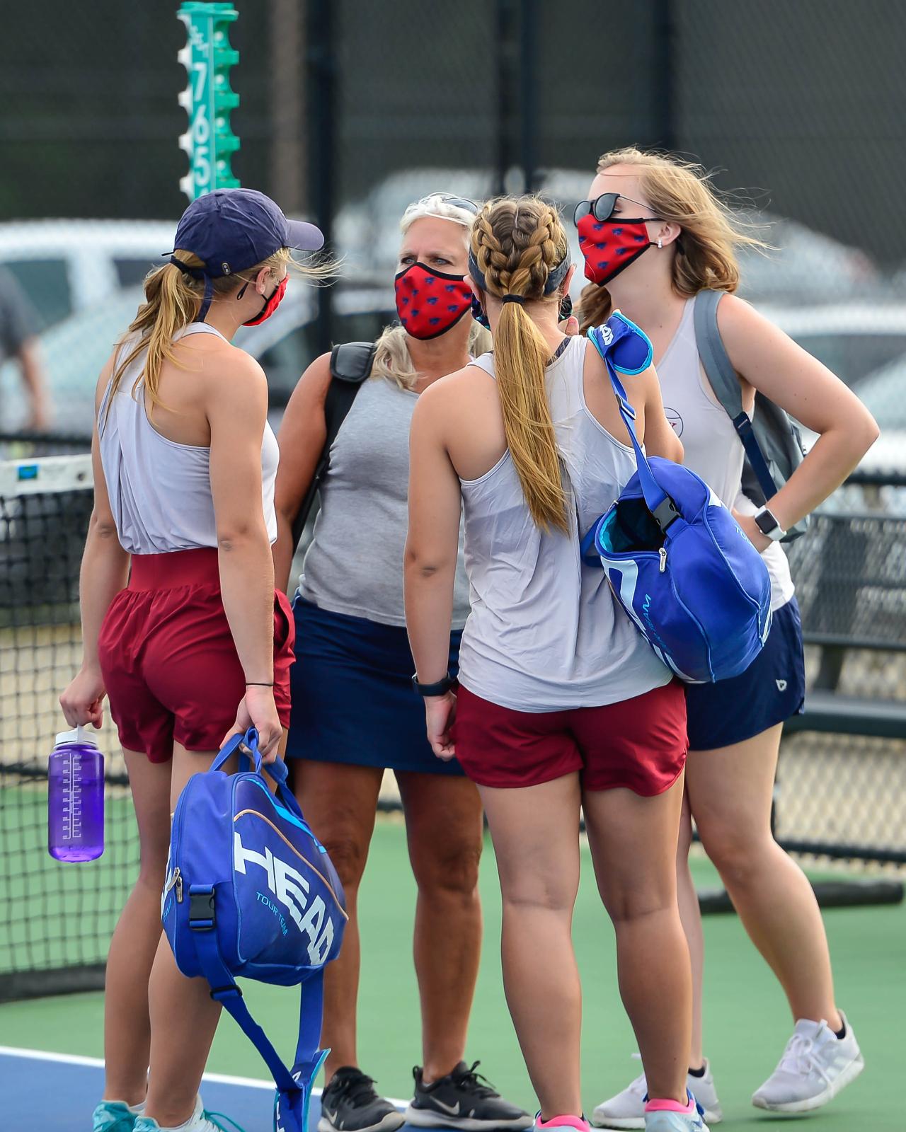 Photos – Girls' Varsity Tennis at Chapin 9/8/2020