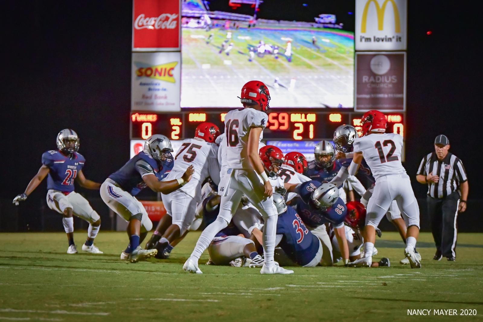 Photos – Varsity Football vs Nation Ford 10/16/20