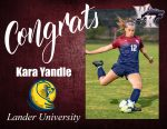 Kara Yandle Signs with Lander University