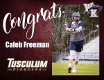 Caleb Freeman Signs with Tusculum University