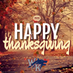 Happy Thanksgiving to our WK Family!