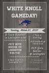 White Knoll Gameday! Tuesday 3/23/2021
