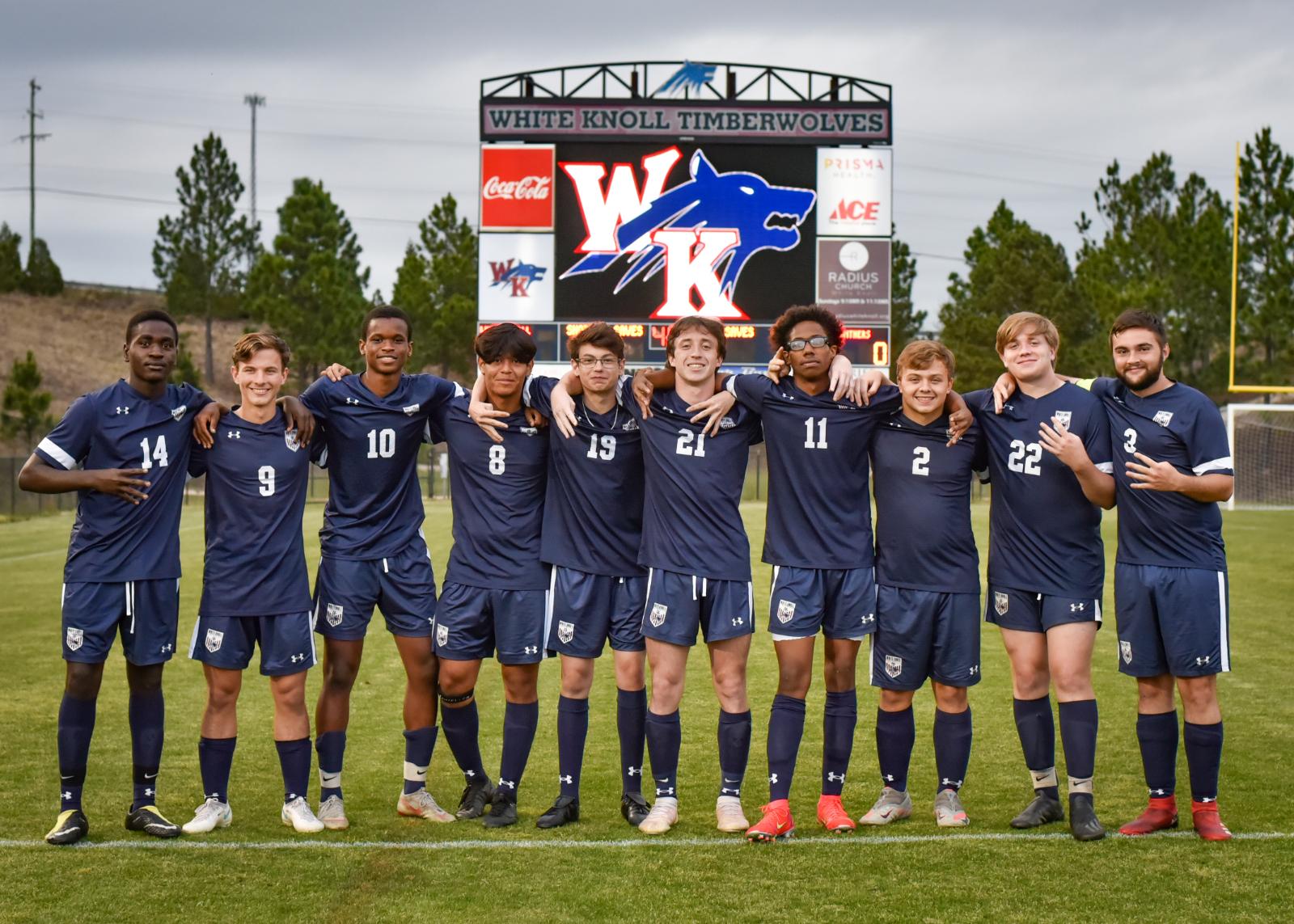 Photos – Varsity Boys' Soccer Senior Night 3/30/2021