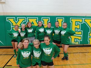 Seventh Grade Volleyball
