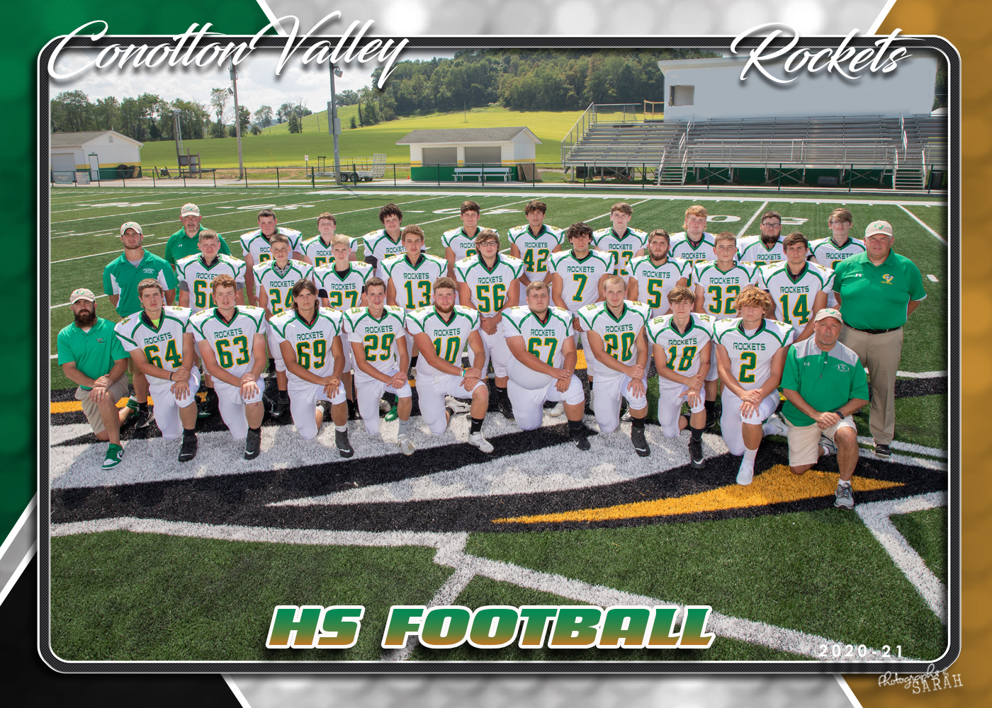 VARSITY FOOTBALL TEAM MOVES UP TO 2nd PLACE IN OVAC STANDINGS!