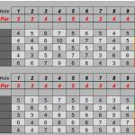 Golf splits NE8 Match