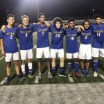 Boys Soccer wins on Senior night