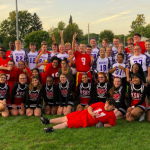 Unified Flag Football beats North Side 30 – 19