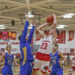Boys BB Tops Fairfield, 62-30