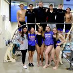 Girls Swim Falls to Angola