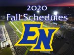 2020 FALL SCHEDULES