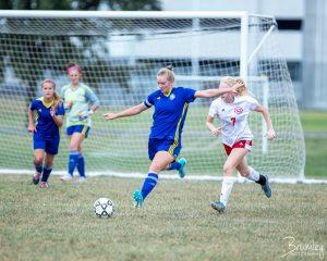 ECHS Lady Soccer Eagles vs Princeton