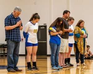 ECHS Senior Night for Volleyball