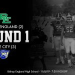 Varsity Football 1st Round Playoff Game Friday 7:30