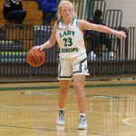 Woods Leads Lady Bishops past St. Joseph of Greenville 61-32