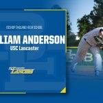Congratulations to William Anderson