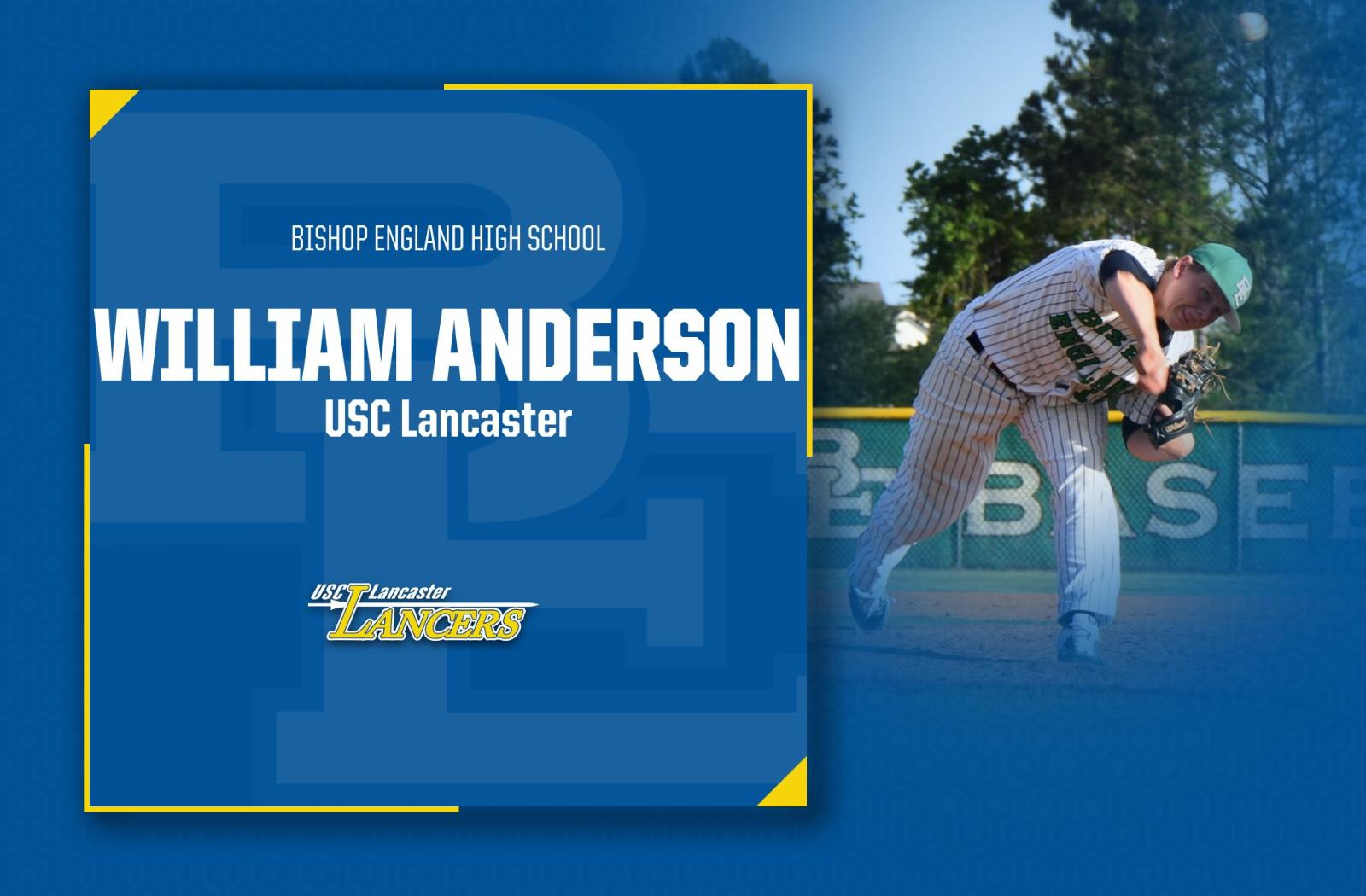 Congratulations to William Anderson