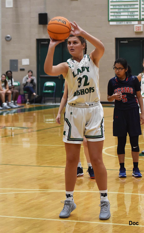 Varsity Girls Basketball vs. CCMS & James Island; Senior Photos