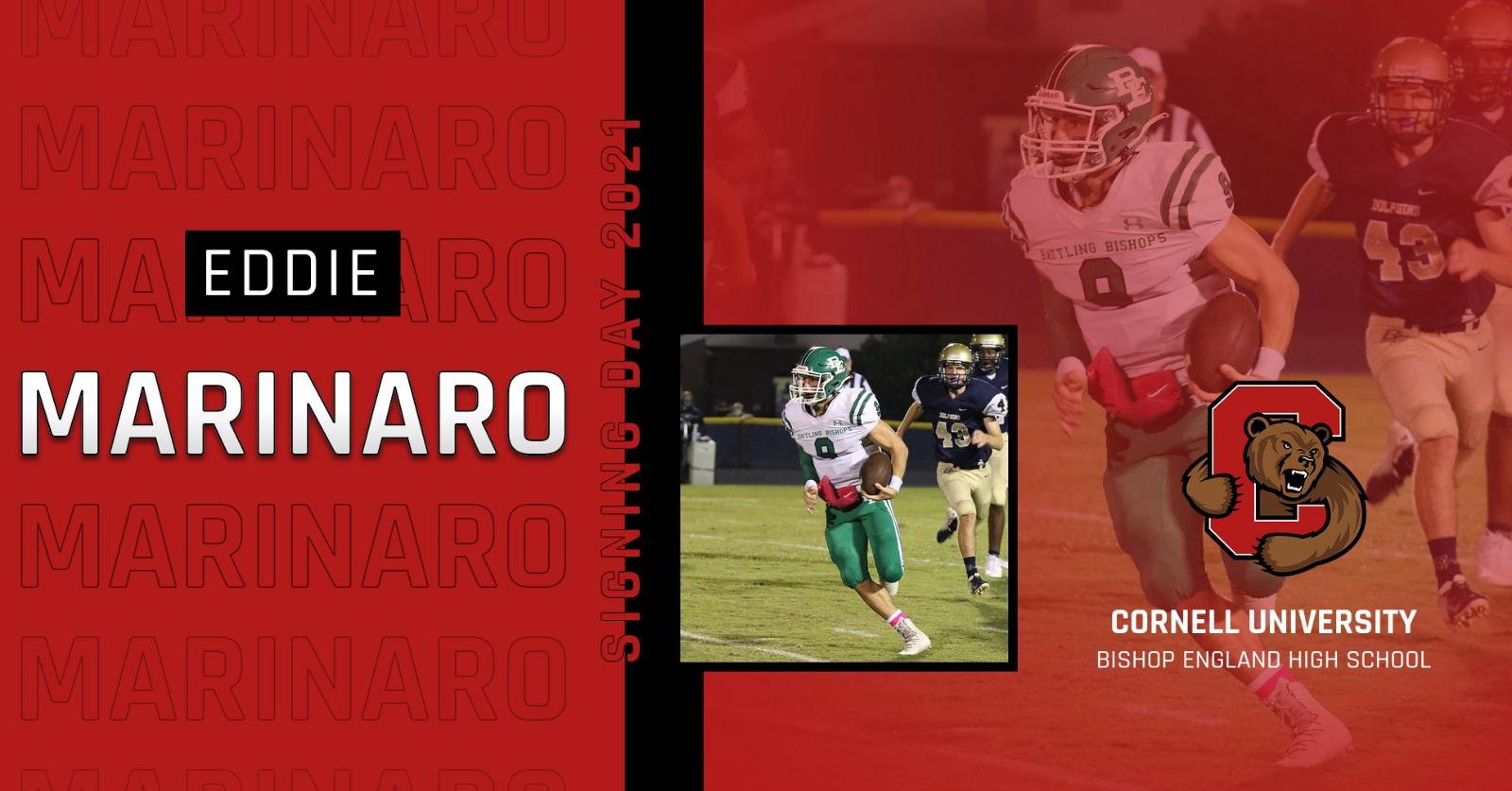 Congratulations to Eddie Marinaro