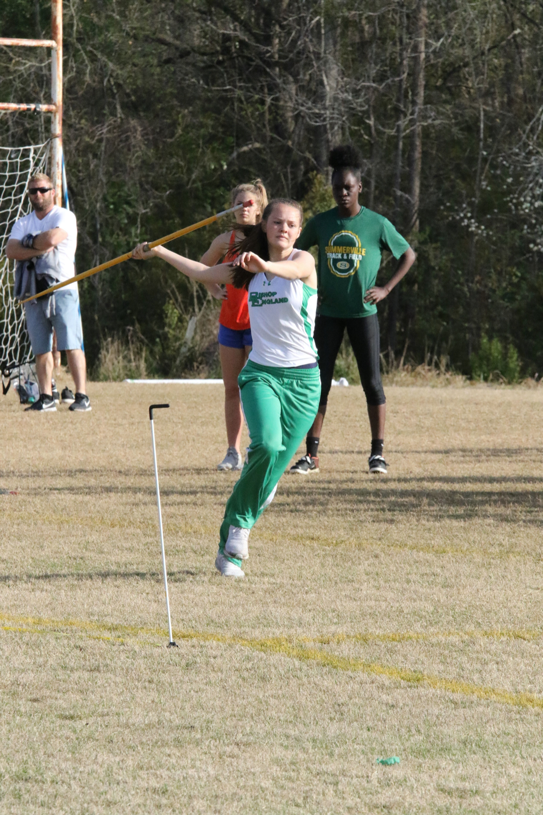 BE Track Teams Compete at Hanahan