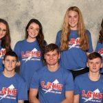 Boys Varsity Swimming ties Canton Central Catholic 47 – 47 on Senior Night