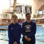 Divers Place 17th and 18th at the OHSAA D1 Northeast District Diving Championships
