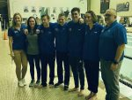 Girls Varsity Swimming beats McKinley 116 – 42 on Senior Night