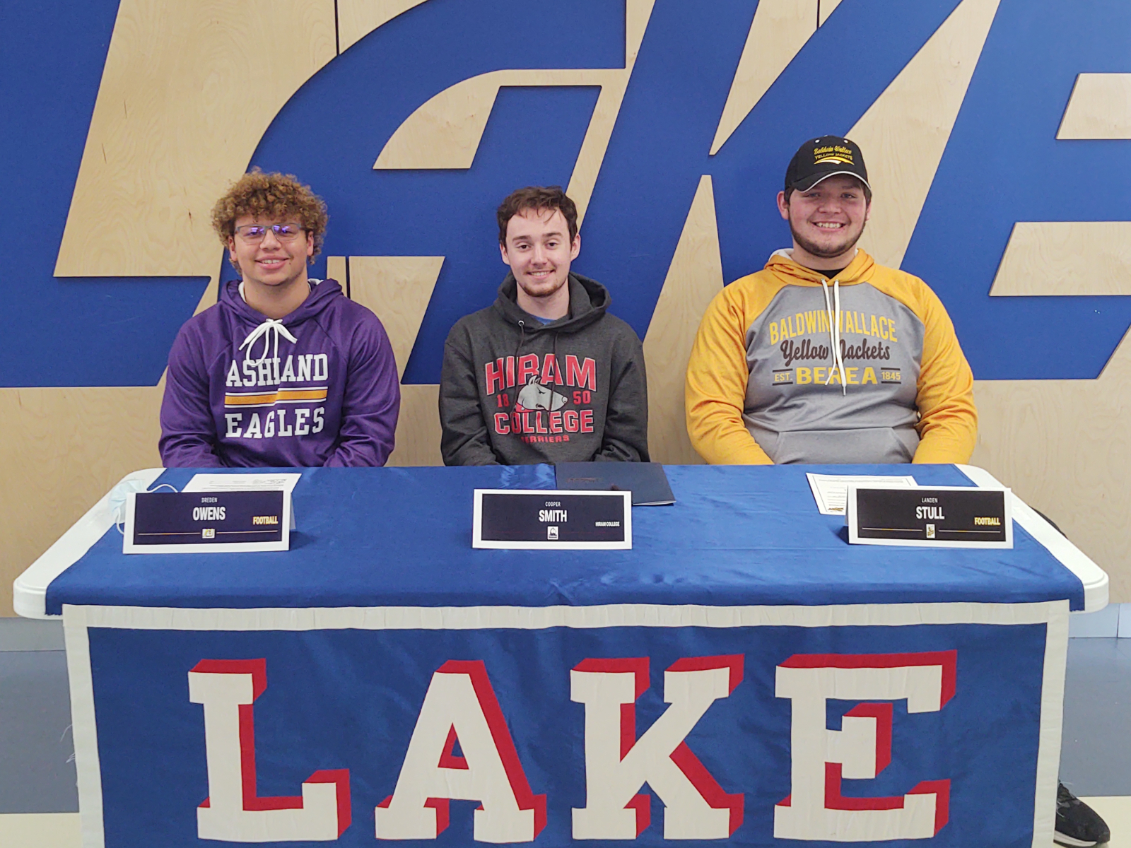 Lake Signing Day