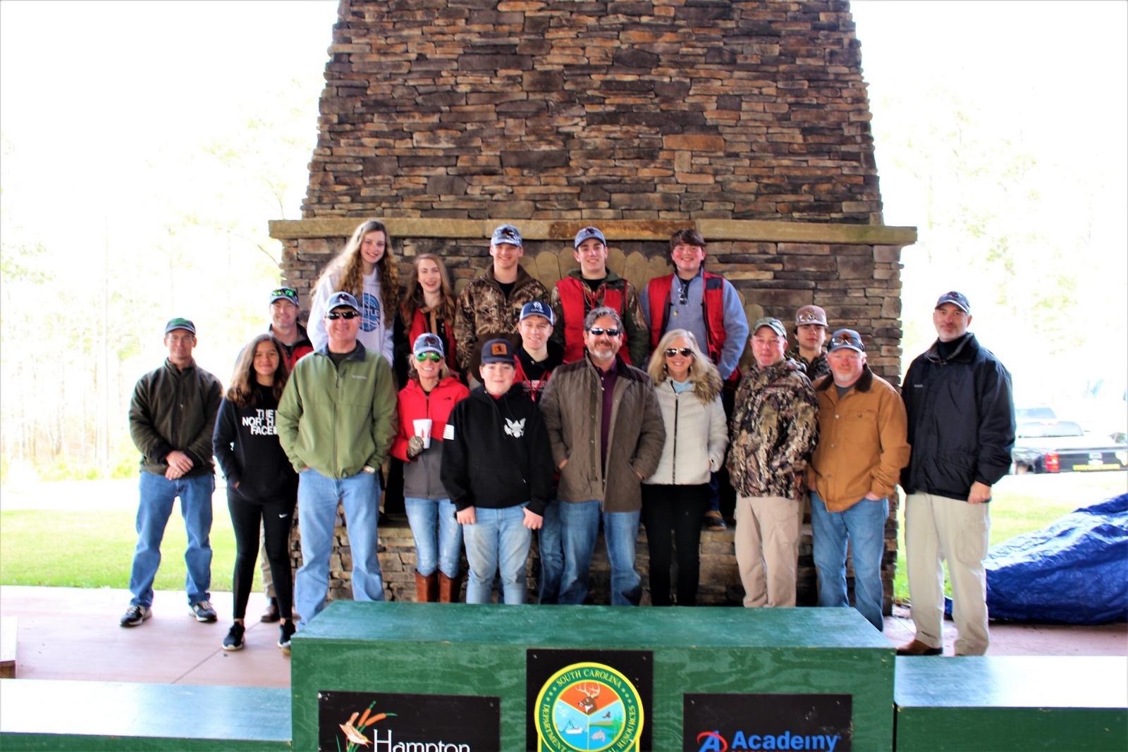 Scholastic Shooting Team Places