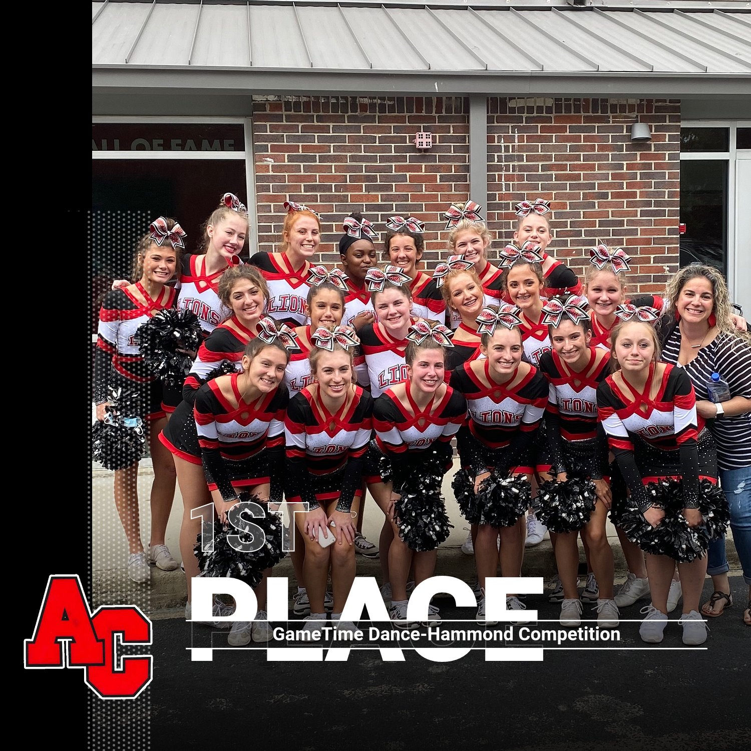 Cheer takes 1st place