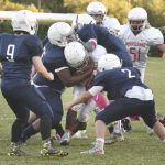 Middle school football teams showing early promise