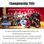 Glynn  Academy wins one-act play state championship