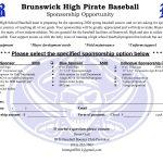 BHS baseball announces sponsor opportunities