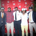 Local football players sign with colleges