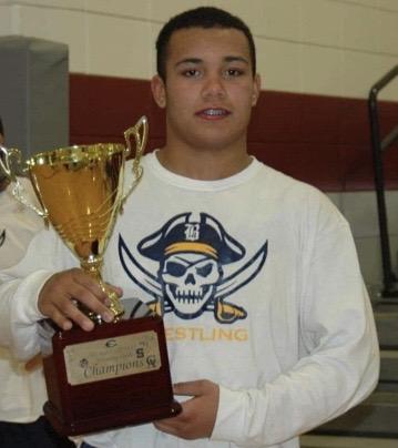 Pirate wrestlers claim region title