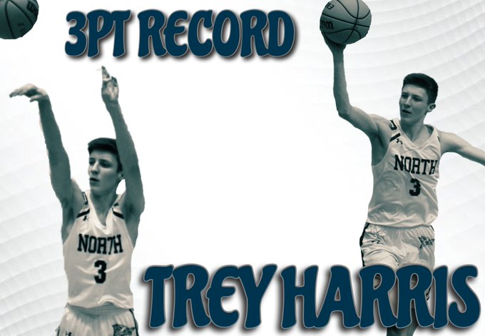 Trey Harris Sets Record