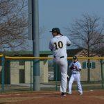 Varsity Baseball splits DH with Bryan