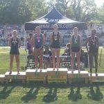 Lady Eagles Fourth, Winckowski Regional Champ