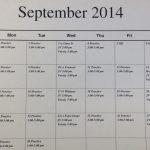 Women's Soccer September Schedule