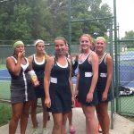 Lady Tennis Impress at Ottawa Hills